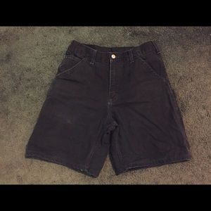 Carharrt b25 blk 30 shorts men's